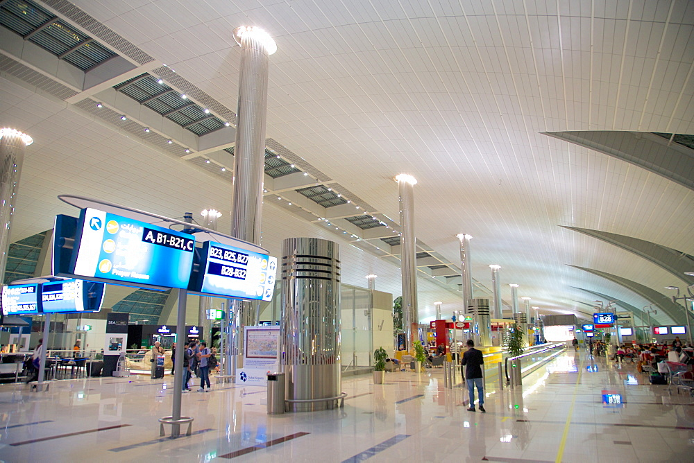 International Airport, Dubai, United Arab Emirates, Middle East