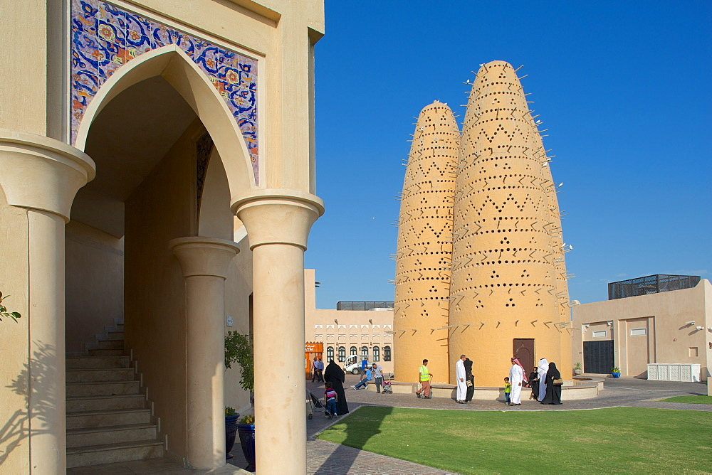 Pigeon Towers, Katara Cultural Village, Doha, Qatar, Middle East