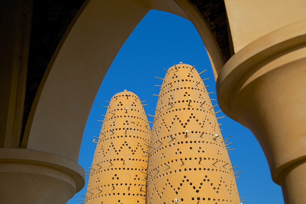 Pigeon Tower, Katara Cultural Village, Doha, Qatar, Middle East