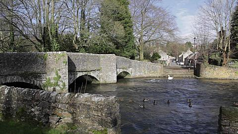 Sheepwash Bridge, Ashford in the Water, Derbyshire, England, Uk, Europe