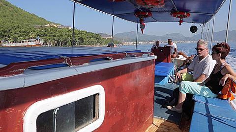 Boat Trip from Marmaris to Icmeler, Marmaris, Anatolia, Turkey