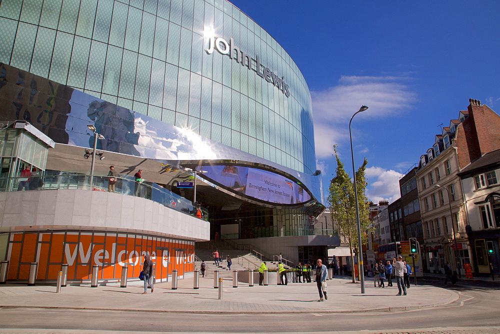 Birmingham New Street Station, Birmingham, West Midlands, England, United Kingdom, Europe
