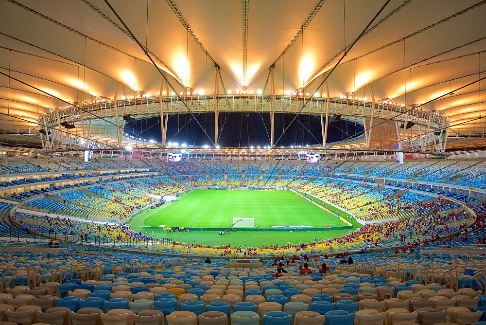 The Maracana Stadium, Rio de Janeiro, Brazil, South America