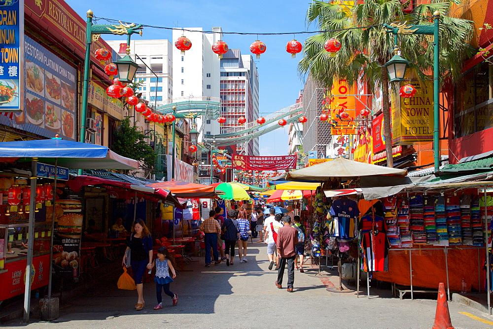 Chinatown, Kuala Lumpur, Malaysia, Southeast Asia, Asia