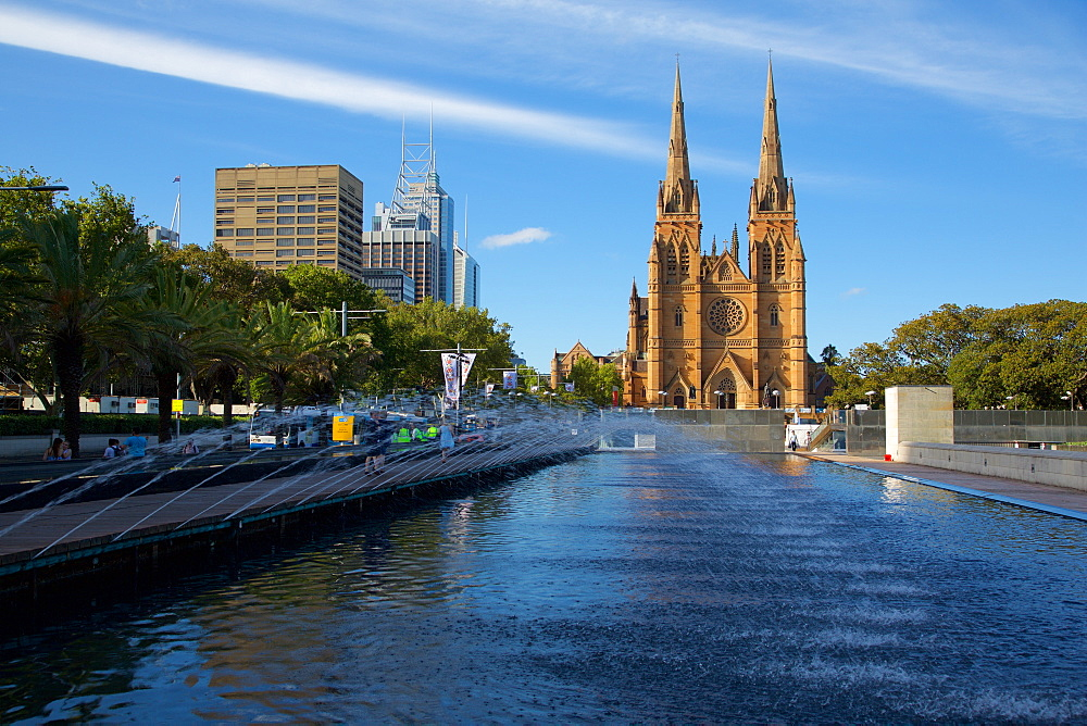 St Mary's Cathedral, Sydney, New South Wales, Australia, Oceania