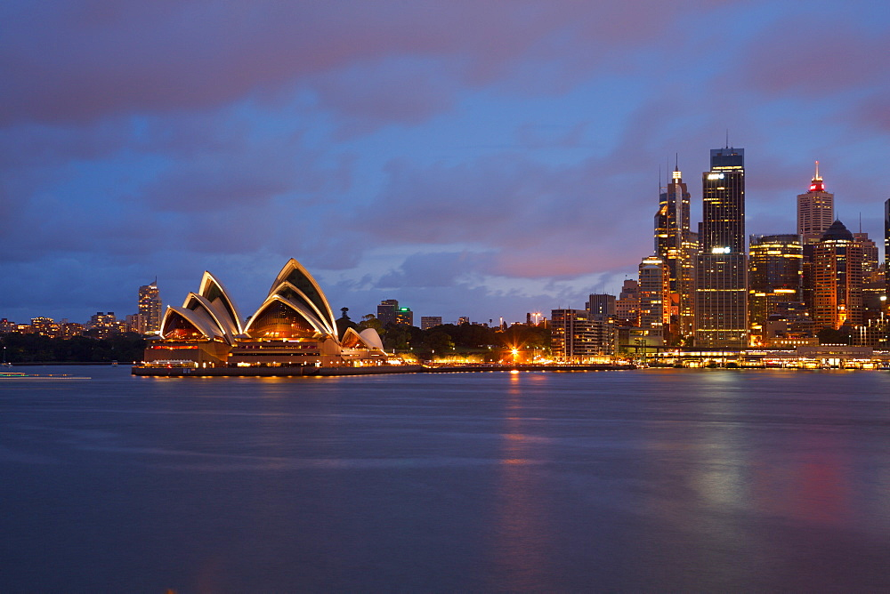 Opera House from North Sydney, Sydney, New South Wales, Australia, Oceania