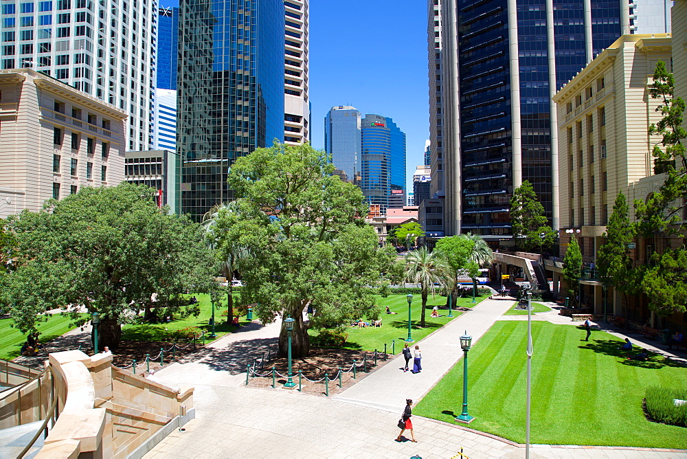 Anzac Square, Brisbane, Queensland, Australia, Oceania