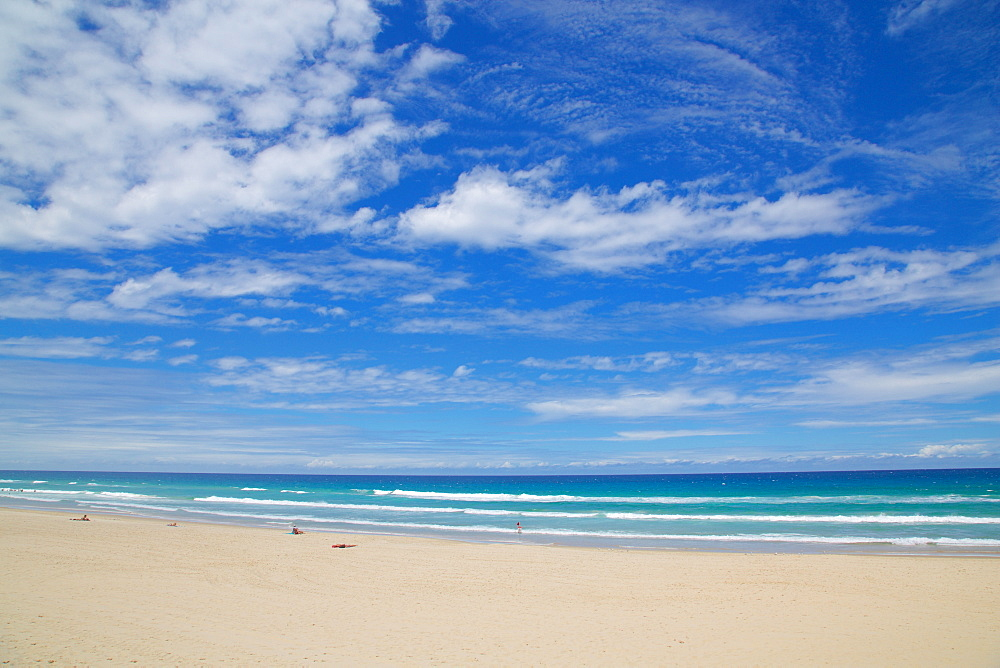 Surfers Paradise, Beach and Sky, Gold Coast, Queensland, Australia, Oceania