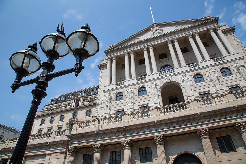 Bank of England, The City of London, London, England, United Kingdom, Europe