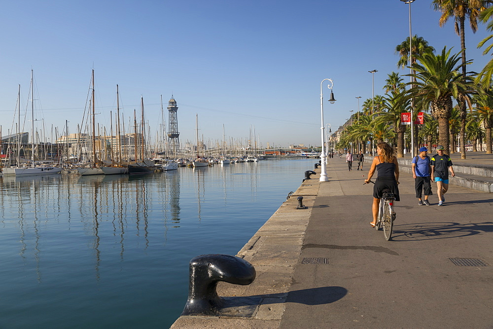 Port Vell, Barcelona, Catalonia, Spain, Europe