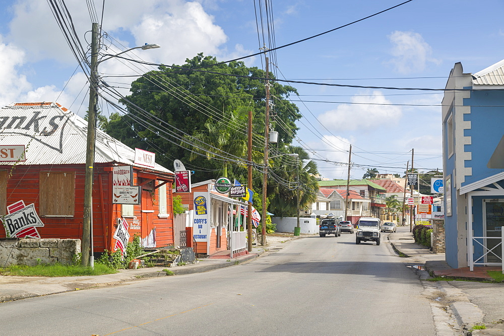 Bay Street, Bridgetown, St. Michael, Barbados, West Indies, Caribbean, Central America