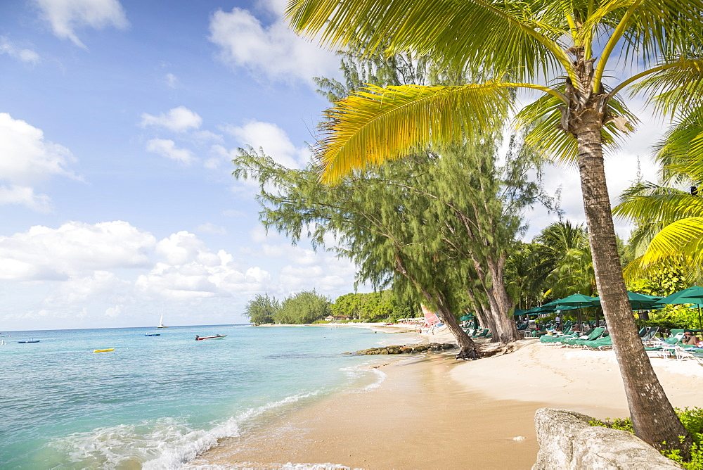 Beach, Holetown, St. James, Barbados, West Indies, Caribbean, Central America