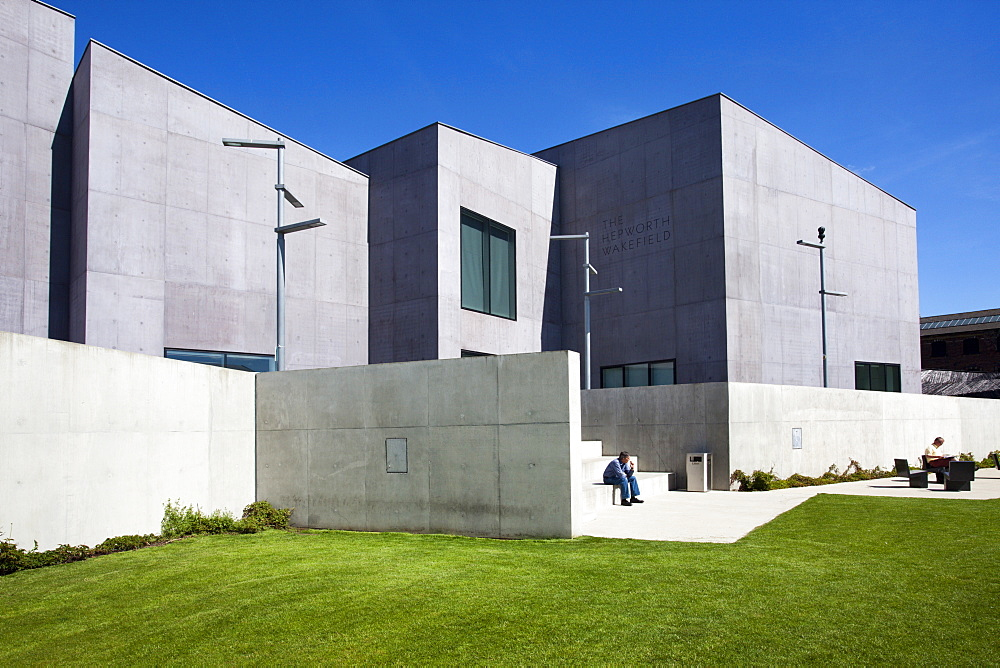 The Hepworth Gallery, Wakefield, West Yorkshire, Yorkshire, England, United Kingdom, Europe