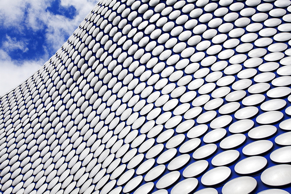 Abstract view of the Selfridges Building at The Bullring, Birmingham, West Midlands, England, United Kingdom, Europe