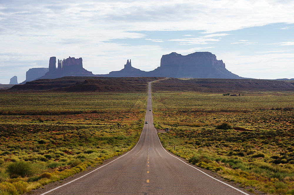 Highway 163 to Monument Valley, Utah, United States of America, North America