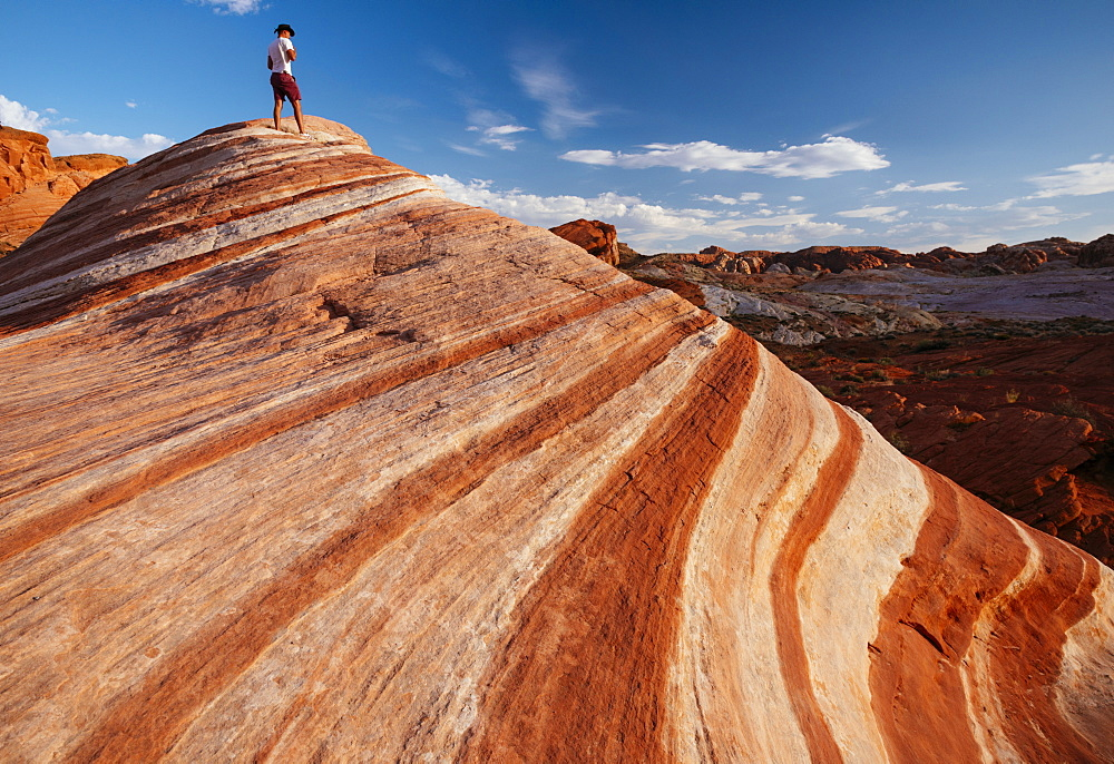 The Fire Wave, Valley of Fire State Park, Nevada, United States of America, North America