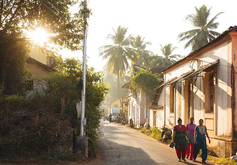 Street scene, Panjim, Goa, India, South Asia