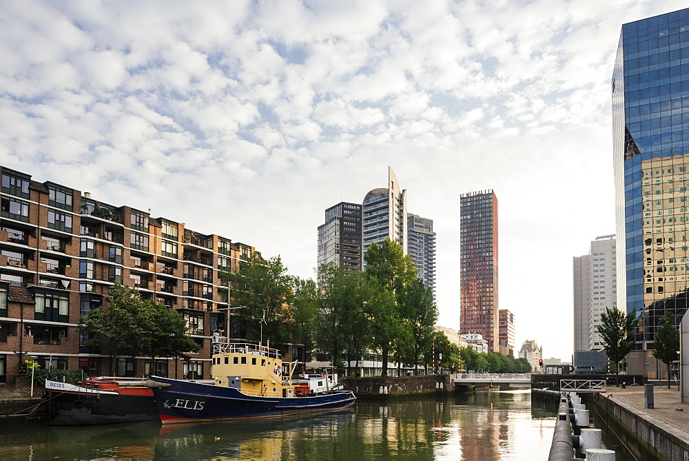The Red Apple, Wijnhaven, Rotterdam, Netherlands, Europe