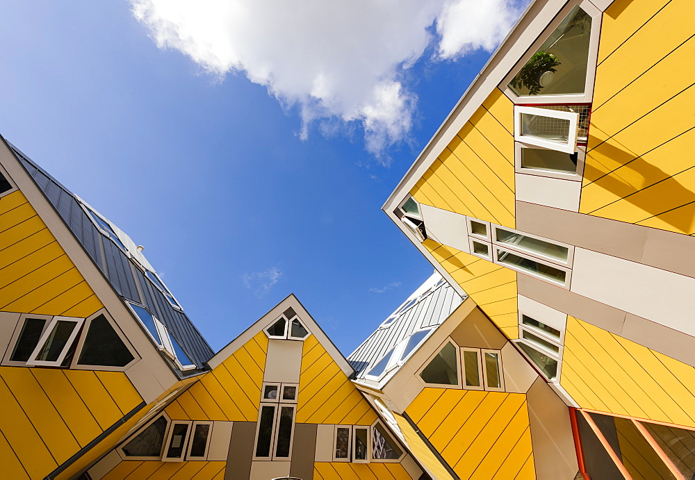 Blaakse Bos, Cube Houses, Oudehaven, Rotterdam, Netherlands, Europe