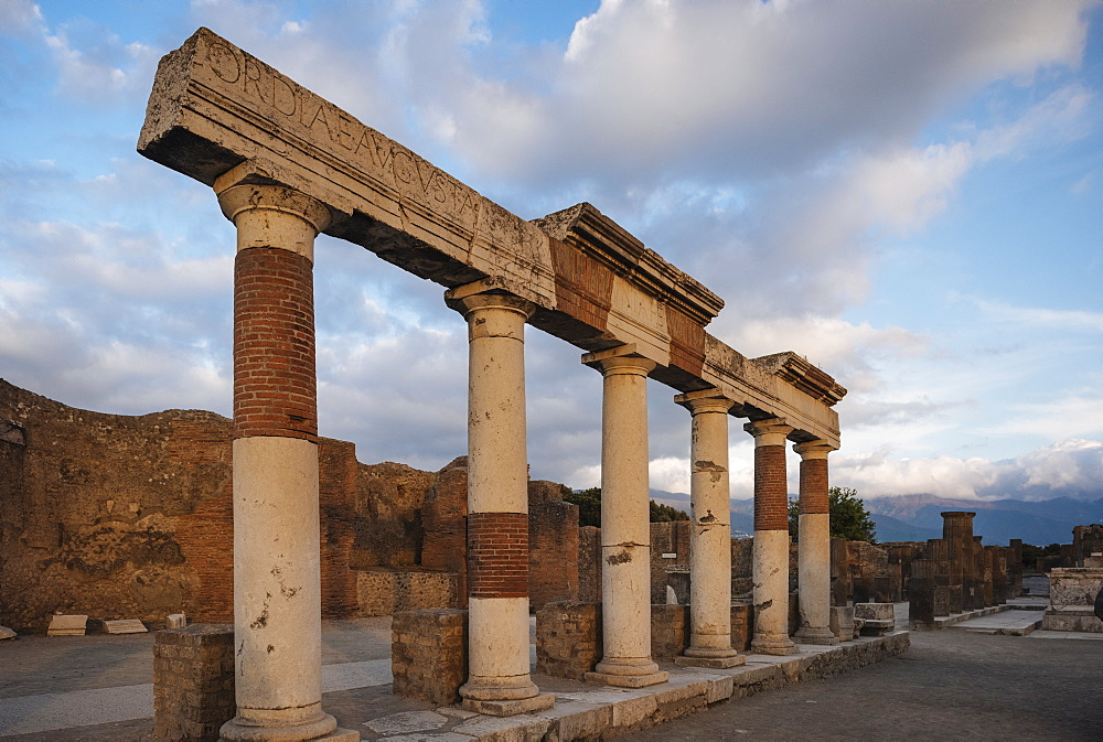 Pompeii, UNESCO World Heritage Site, Campania, Italy, Europe - 848-1297