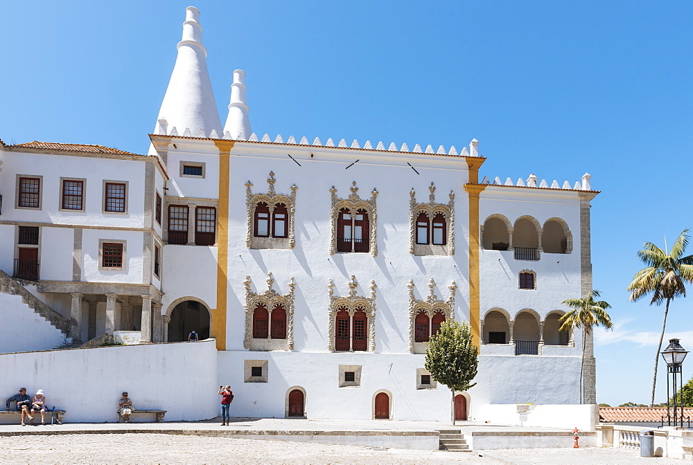 Exterior of The Palace of Sintra, Sintra, Portugal - 848-1433