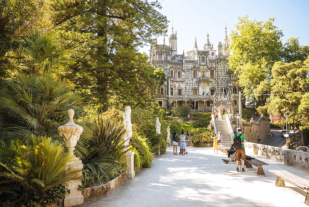 Exterior of Palacio da Regaleira, Quinta da Regaleira, Sintra, Portugal - 848-1441