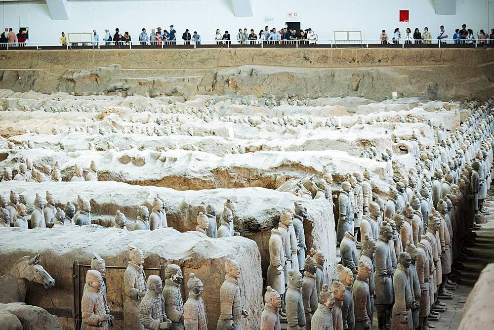 Army of Terracotta Warriors, UNESCO World Heritage Site, Xian, Shaanxi Province, China, Asia