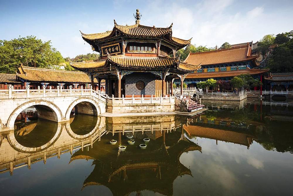 Yuantong Buddhist Temple, Kunming, Yunnan Province, China, Asia