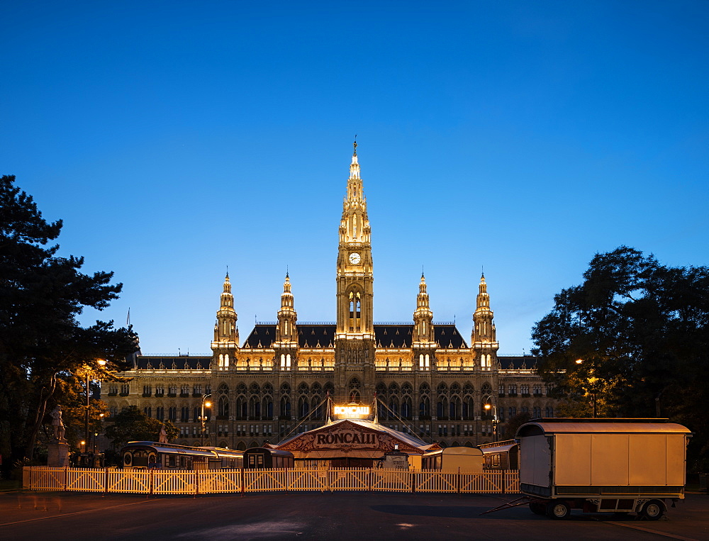 Rathaus Town Hall, Vienna, Austria, Europe