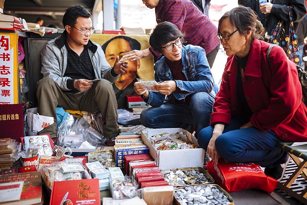 Panjiayuan Flea Market, Beijing, China, Asia