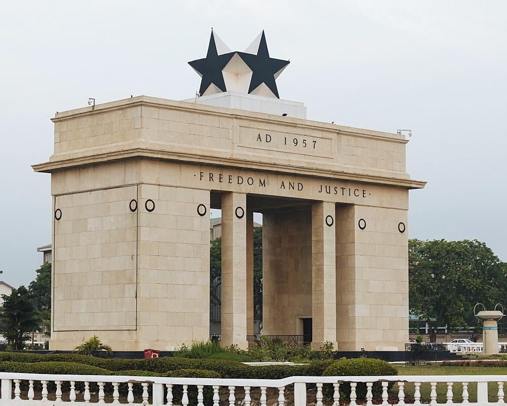 Black Star Gate, Accra, Ghana, Africa - 848-1711