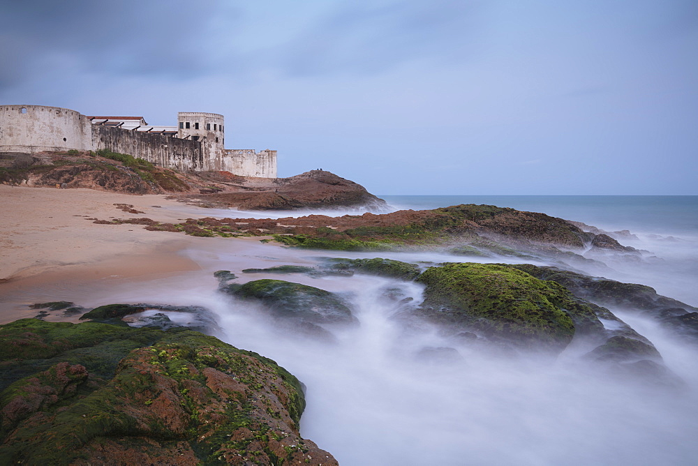 Twilight at Cape Coast Castle, Ghana, Africa