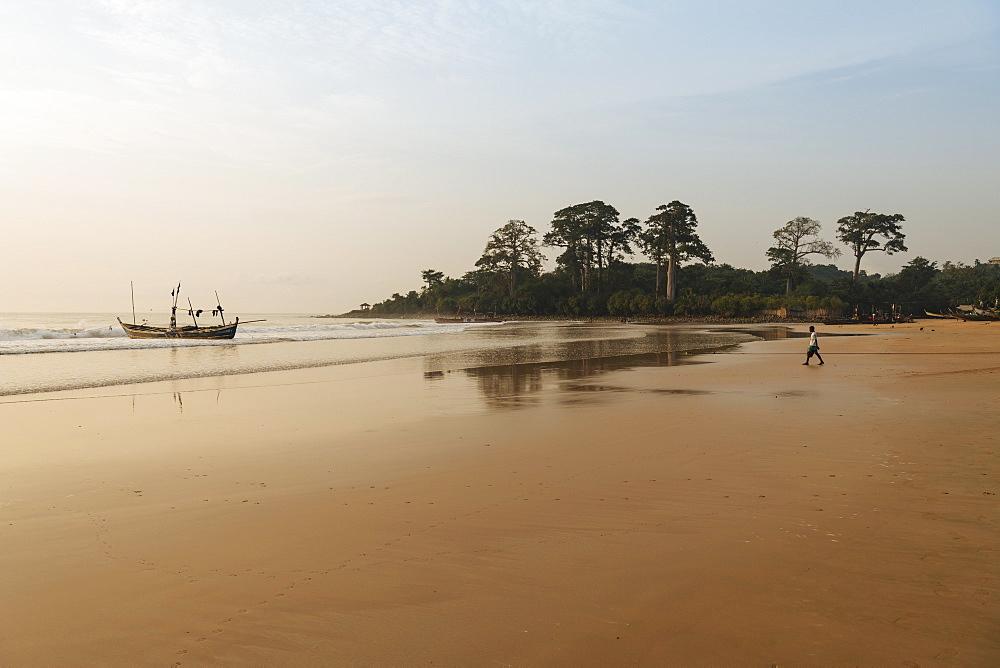 Busua Beach, Ghana, Africa