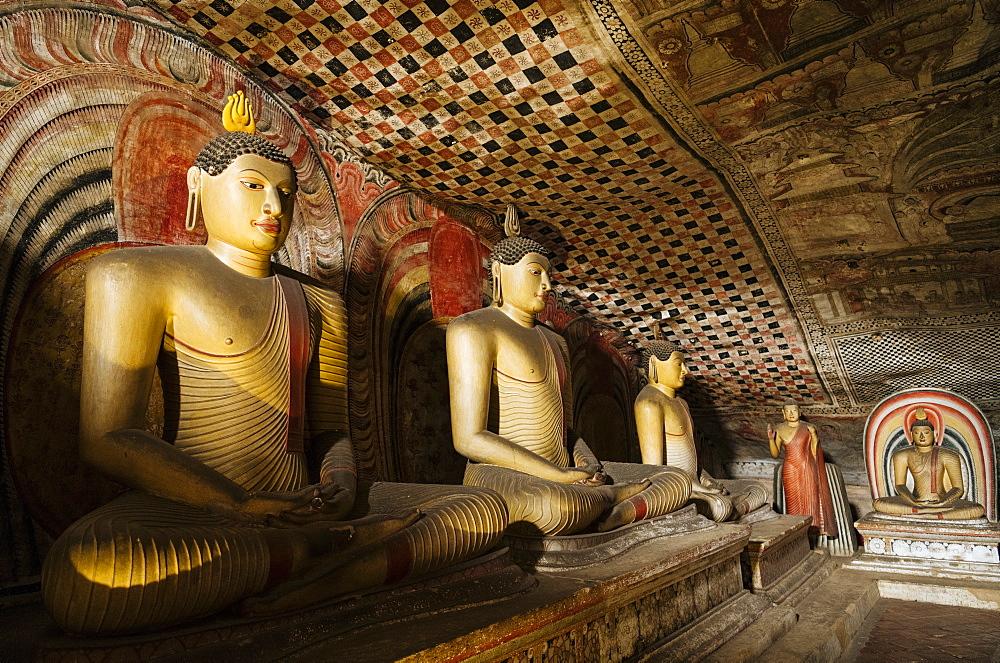 Dambulla Rock Cave Temple, Central Province, Sri Lanka, Asia - 848-1770