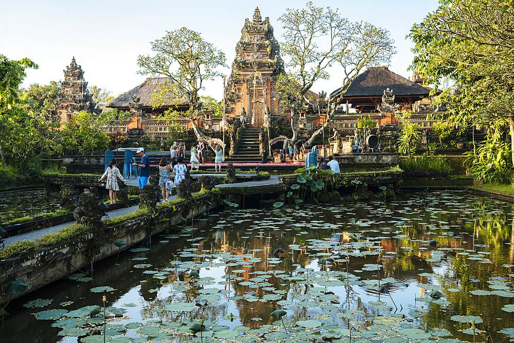 Pura Desa Ubud Water Palace, Ubud, Bali, Indonesia, Southeast Asia, Asia - 848-1887