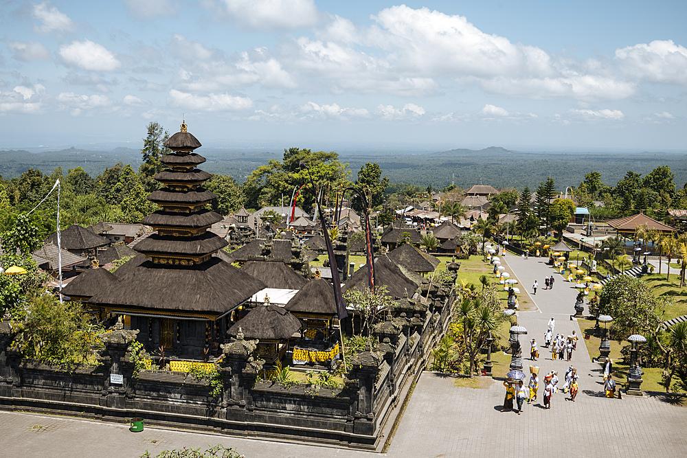 Pura Besakih Temple, Bali, Indonesia, Southeast Asia, Asia - 848-1918