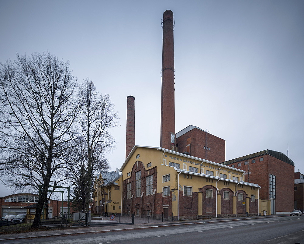 Turku Energy Station, Turku, Finland, Europe