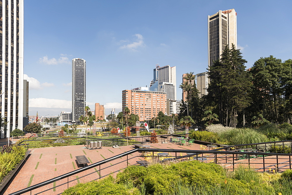 Independencia Park, Bogota, Cundinamarca, Colombia, South America - 848-2077
