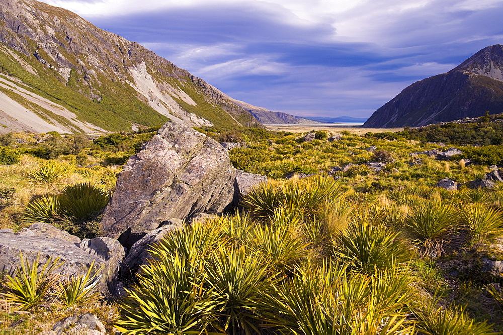 Aoraki Mount Cook National Park, UNESCO World Heritage Site, South Island, New Zealand, Pacific