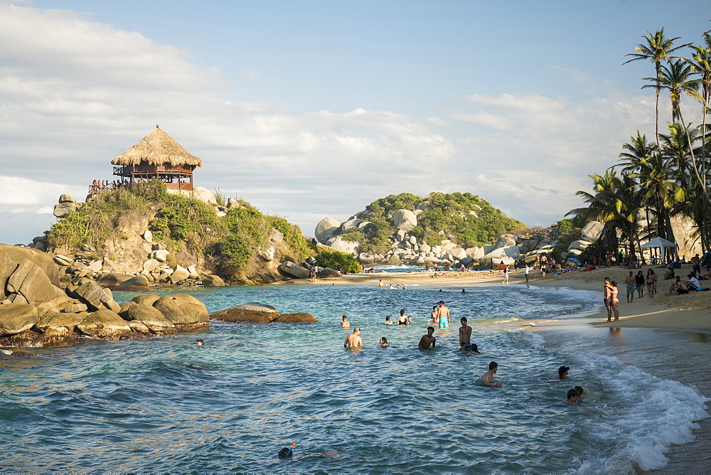 Tayrona National Park, Magdalena Department, Caribbean, Colombia, South America - 848-2142