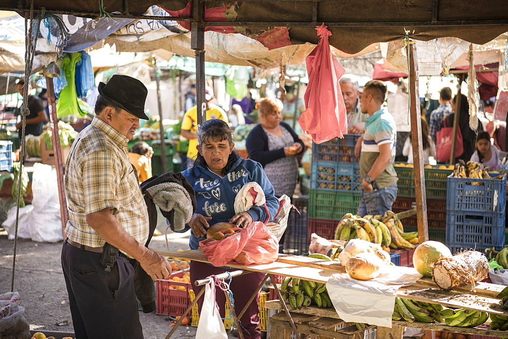 Local Market, Villa de Leyva, Boyaca, Colombia, South America