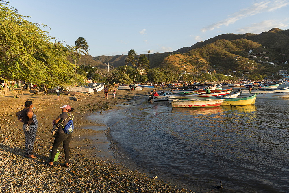 Taganga, Magdalena Department, Caribbean, Colombia, South America - 848-2152