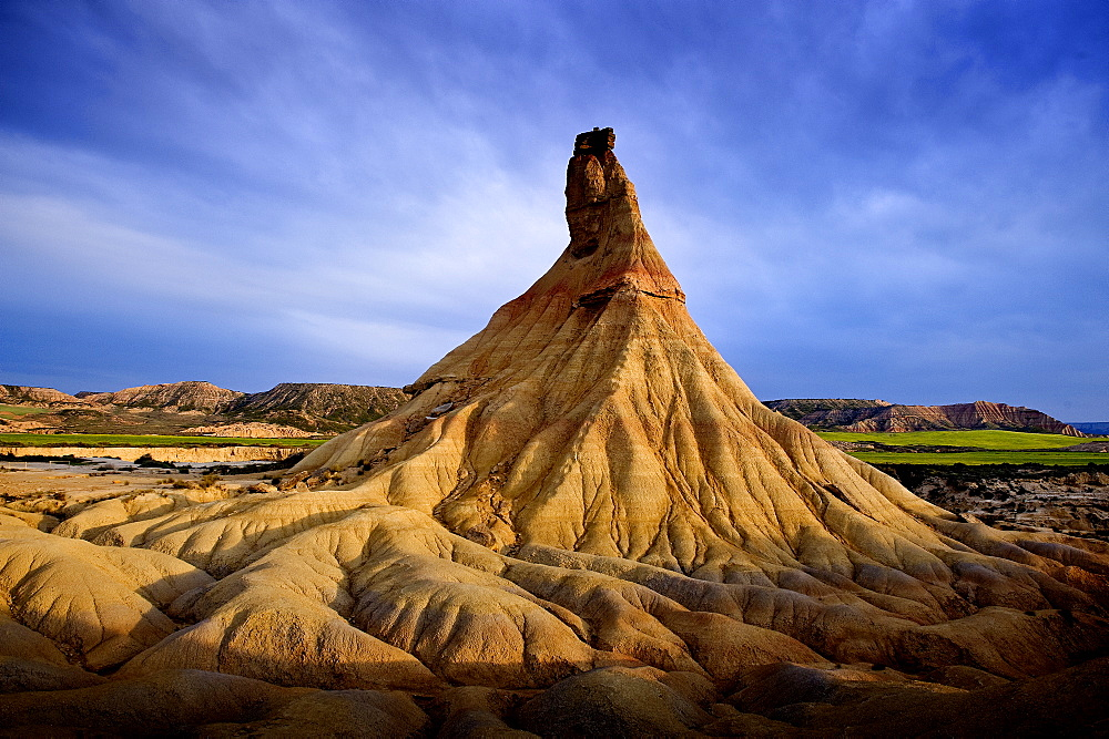 Bardenas Reales National Park, Navarra, Spain, Europe - 848-244