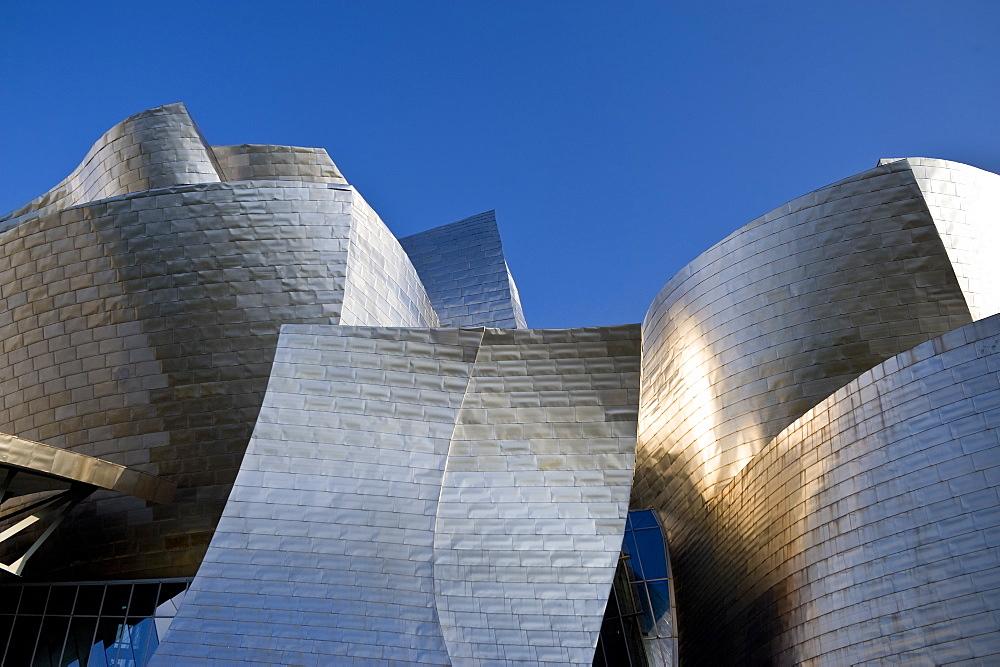 Guggenheim Museum, Bilbao, Euskal Herria, Euskadi, Spain, Europe - 848-246
