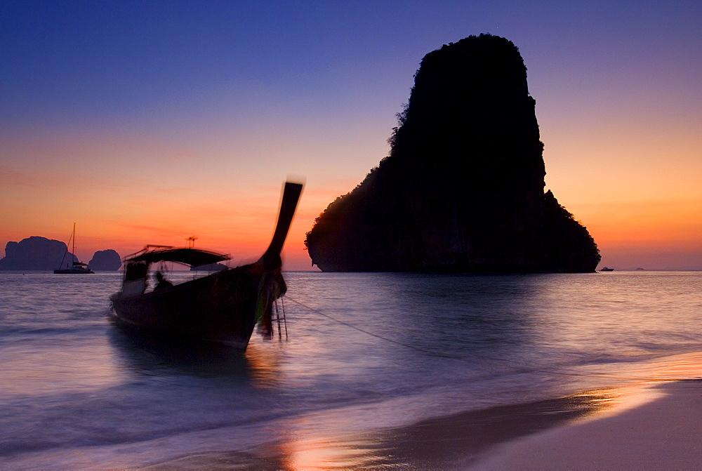 Happy Island, Hat Phra Nang Beach, Railay, Krabi Province, Thailand, Southeast Asia, Asia