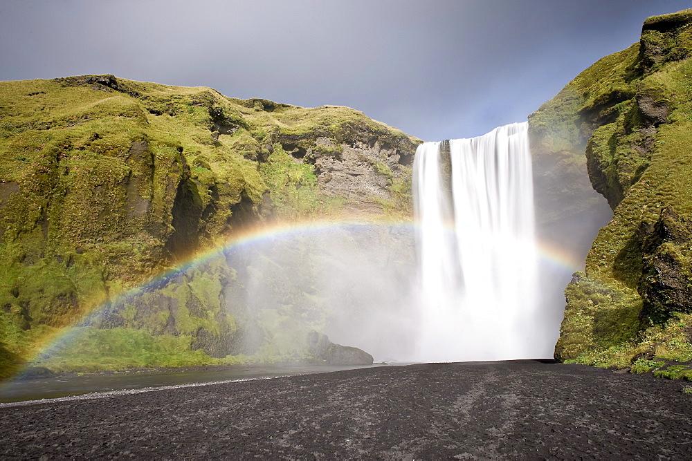 Skogar Waterfall, Iceland, Polar Regions