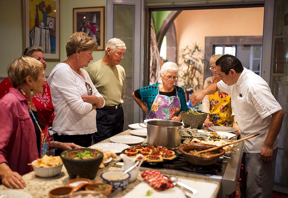 Cooking Class, San Miguel de Allende, Guanajuato, Mexico, North America