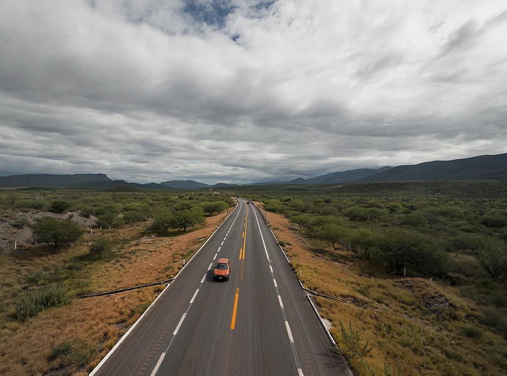 Autoposta through Reserva de la Biosfera de Tehuacan-Cuicatlan, Oaxaca, Mexico, North America