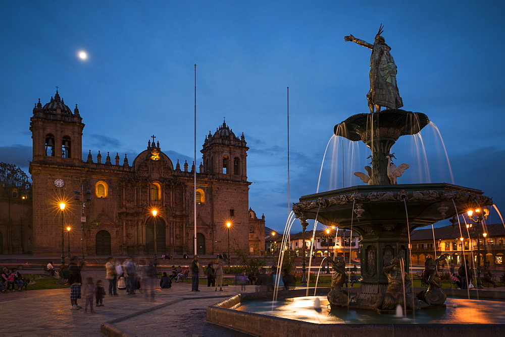La Catedral, Plaza de Armas, Cusco (Cuzco), Peru, South America