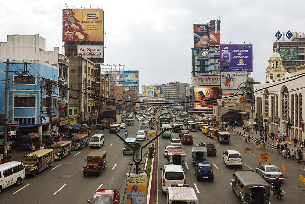 Quezon Boulevard, Quiapo, Manila, Philippines, Southeast Asia, Asia